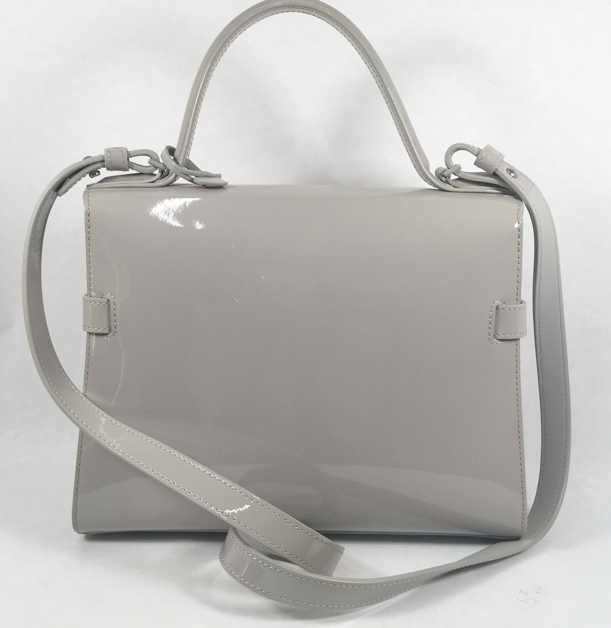 Delveaux Grey Tempete Bag