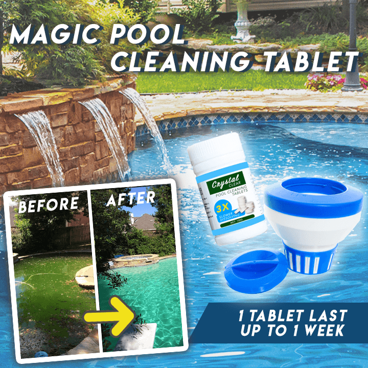 3 VENDITA 2 PAGAMENTO | Magic Pool Cleaning Tablet™ (40 compresse)
