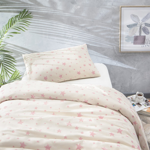 Star White Duvet Set