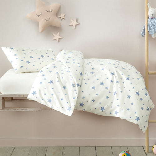Star White Baby Duvet Set