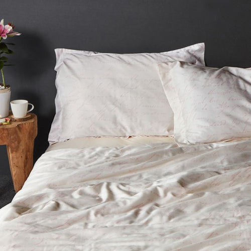 Poem Cotton Sateen Duvet Set