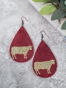Mooove Over Earrings- Ships by 11/20