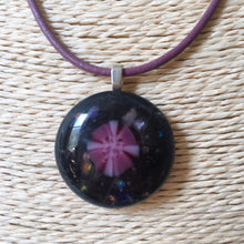 Load image into Gallery viewer, Fused Glass Pendant Necklace