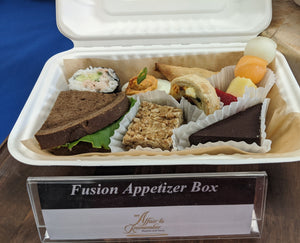 Individual Fusion Appetizer Box