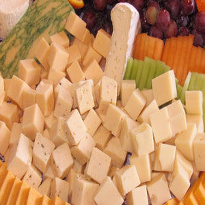 Domestic & Imported Cheese Selection with Seasonal Fresh Fruit