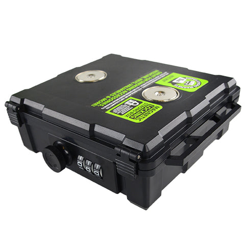 Item# 21738. Airtight Magnetic Locking Stash Box with Inner Dividers.  $360/case, 48 pcs. 8 pc inners of 6 pcs.  Free Shipping!