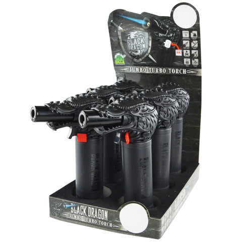 Item #22091. Black Dragon Torch.  $612/case.  72 pcs, 12 inners of 6 pcs. Free Shipping!