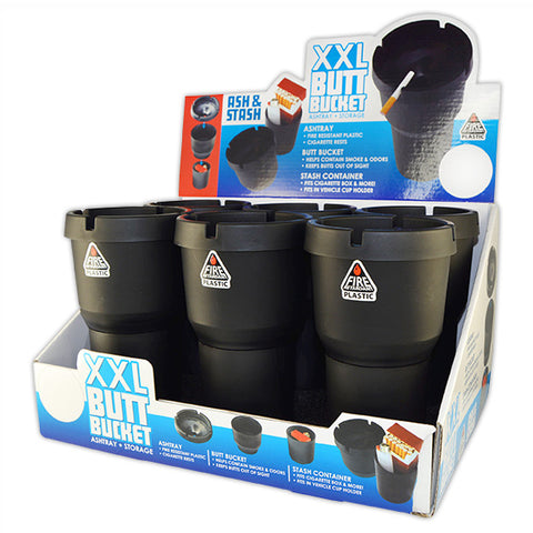 Item #23595. XXL Butt Bucket.  $144/case.  48 pcs, 8 inners of 6 pcs. Free Shipping!