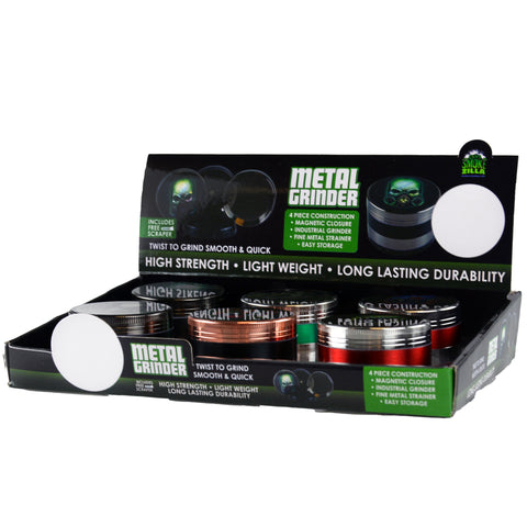 Item#23947. Metal Grinder $360/case.  72 pcs, 12 inners of 6 pcs. Free Shipping!