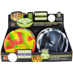 Item# 25426. Glow in the Dark Silicone Ashtray.  $360/case.  72 pcs, 12 inners of 6 pcs. Free Shipping!