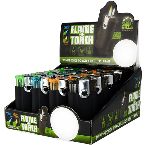 Item# 25637. Flame-N-Torch.  $288/case.  192 pcs, 12 inners of 16 pcs.  Free Shipping!