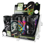 Item# 28258. Tin Butt Bucket.  $288/case.  144 pcs, 12 inners of 12 pcs. Free Shipping!