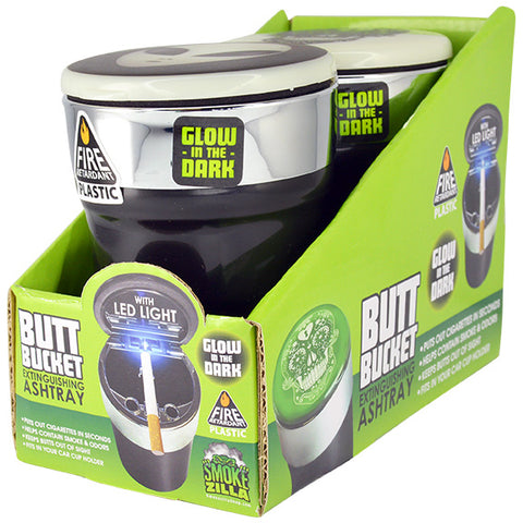 Item #40308. Glow In The Dark Butt Bucket.  $84/case.  24 pcs, 12 inners of 2 pcs. Free Shipping!