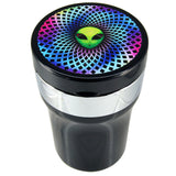 Cupholder Ashtray with Rechargeable Lighter