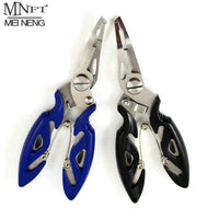 MNFT Fishing Plier Scissor Braid Line Lure Cutter Hook Remover etc. Tackle Tool Cutting Fish Use Tongs Multifunction Scissors - X-Marks