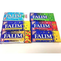 Falim sugarless chewing gum , sugar free (7x5 pack) 35 gums, gift option - X-Marks
