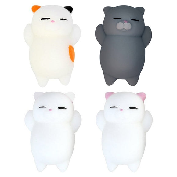 Cute Cat Squishy Toy Stress Relief Anti-stress Toys Kawaii Squishy Animal Cat Toy For Children Stress Relief Funny Gift Toy - X-Marks