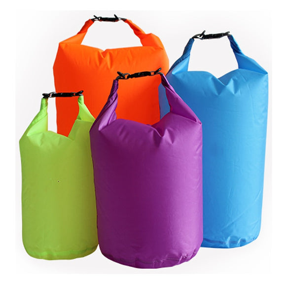10L 20L Waterproof Dry Bag Pack Sack Swimming Rafting Kayaking River Trekking Floating Sailing Canoing Boating Water Resistance - X-Marks