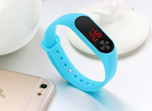Montre relogio relojes LED electronic sport watch reloj deportivo girls boys minions kids watches children zegarek wristwatch - X-Marks