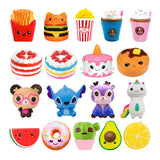Jumbo Kawaii Popcorn Fries Panda Squishy Cake Deer Milk Squeeze Toys Slow Rising Cream Scented Antistress Child Kid Baby Toys - X-Marks