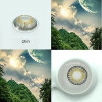 EYESHARE- 2pcs/pair 3 Tone Series Colored Contact Lenses  for eyes  Colored Eye Lenses Color Contacts - X-Marks