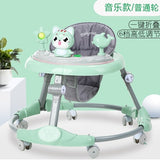 Baby walker multi-function  rollover boy baby girl small child starter learn to drive - X-Marks