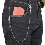 Punk Hip-hop Trendy Single/Three Layer Belt Key Chain Waist Pants Chain Jeans Long Metal Clothing Accessories Jewelry Fashion - X-Marks