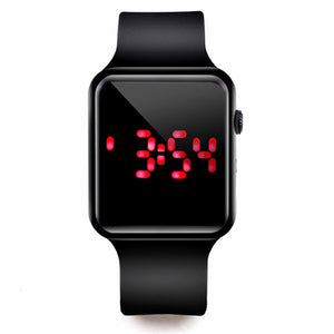 Sport Digital Watch Women Men Square LED Watch Silicone Electronic Watch Women's Watches Clock relogio feminino digital reloj - X-Marks