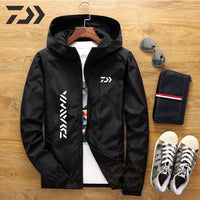 Daiwa Jacket Men Fishing Shirt Solid Thin Uv Protection Clothes Fishing Clothing Summer Breathable Quick Dry Soft Shell Outdoor - X-Marks