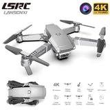 LANSENXI 2020 E68 Mini Drone 4K 1080P Wide Angle Camera Drone Wifi FPV Height Hold Mode RC Foldable Quadcopter Drone Toy Gift - X-Marks