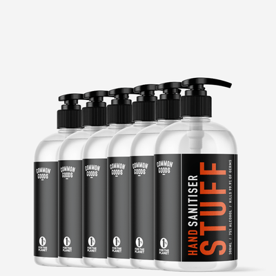 6-PACK | 300ML ANTIBACTERIAL HAND SANITISER - CommonGoods Co