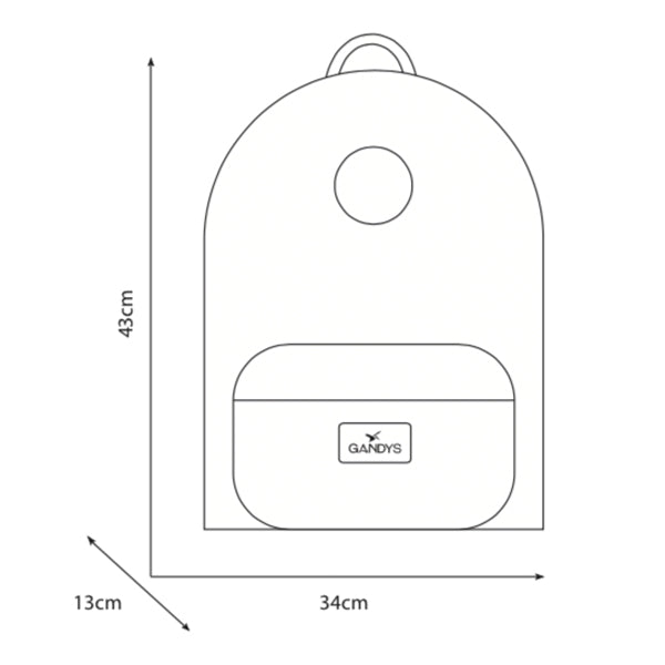 Black Basecamp Size Guide