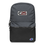 C25 Embroidered Patch Backpack