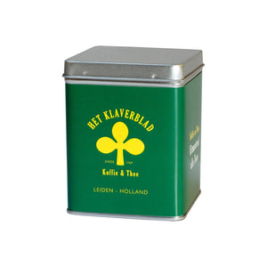 Het Klaverblad 100 g Tea Tin Green