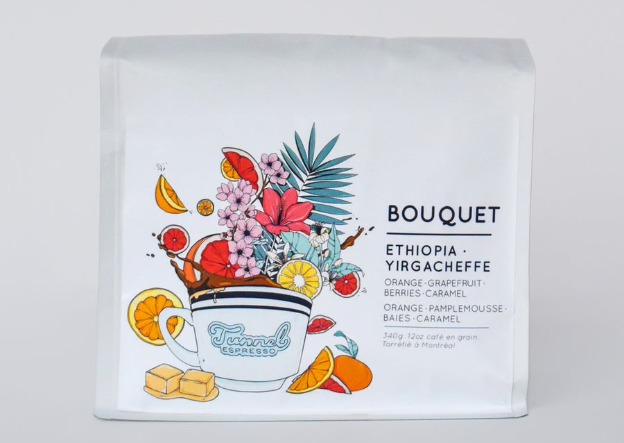 Bouquet - Ethiopian Roasted Espresso Coffee Beans (Washed)