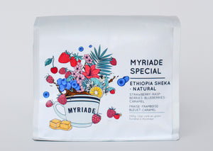 Myriade Special - Ethiopian Roasted Espresso Coffee Beans (Natural)