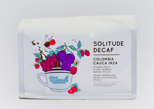Solitude Decaf - Colombian Decaf Espresso Roasted Coffee Beans