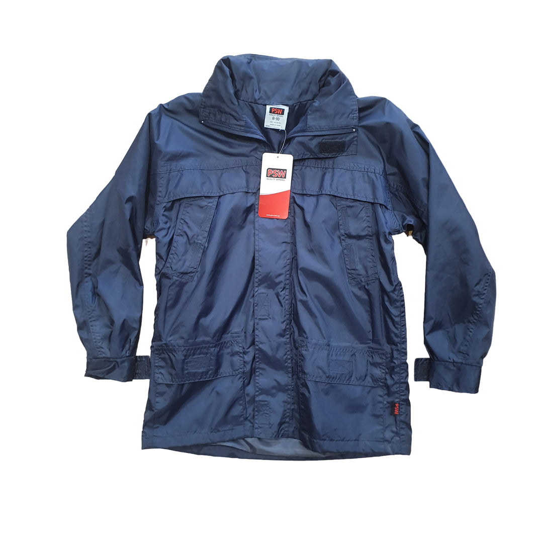 St Joan of Arc Navy Rain Jacket