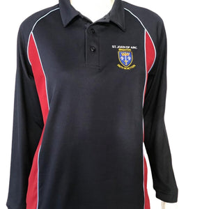 St Joan of Arc Long Sleeve Sports Polo