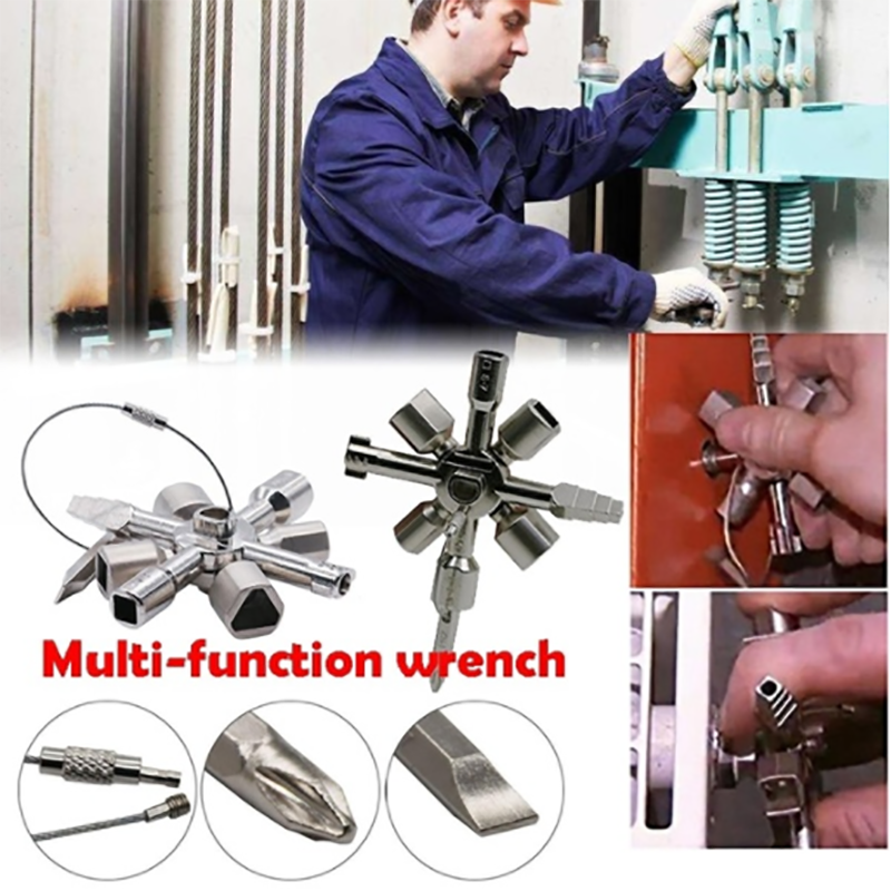 10 In 1 Multifunctional Cross Switch Wrench