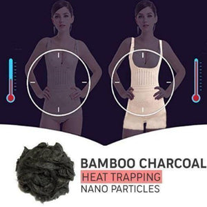 Bamboo Charcoal Thermal Hot Body Shaper