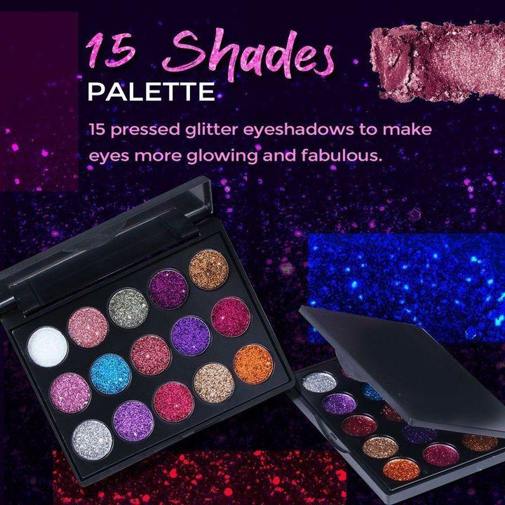 Beauty Glazed Pressed Water-proof Glitter Palette