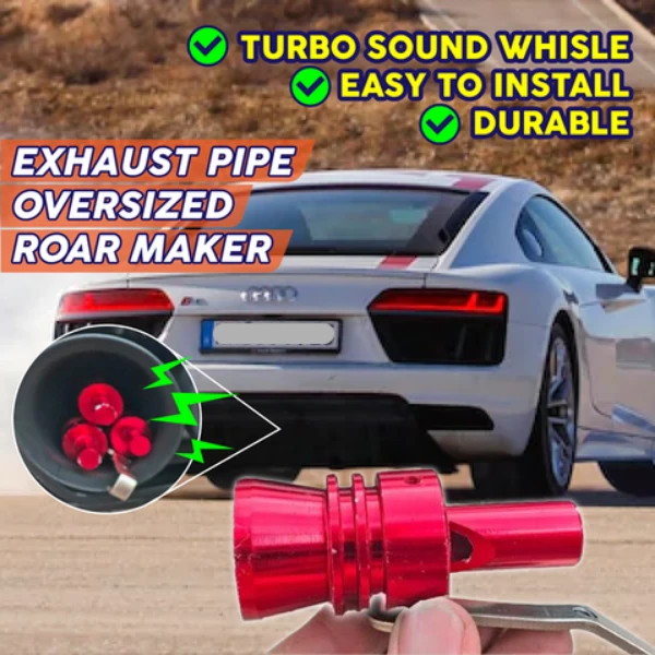 Exhaust Pipe Oversized Roar Maker (Cars and Motorcycles)