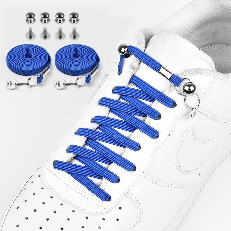 Quick No-Tie Shoelaces