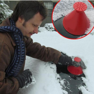 Ultimate Ice Scraper Cone