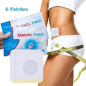 Anti-Diabetic Patch 6 Pieces/Set