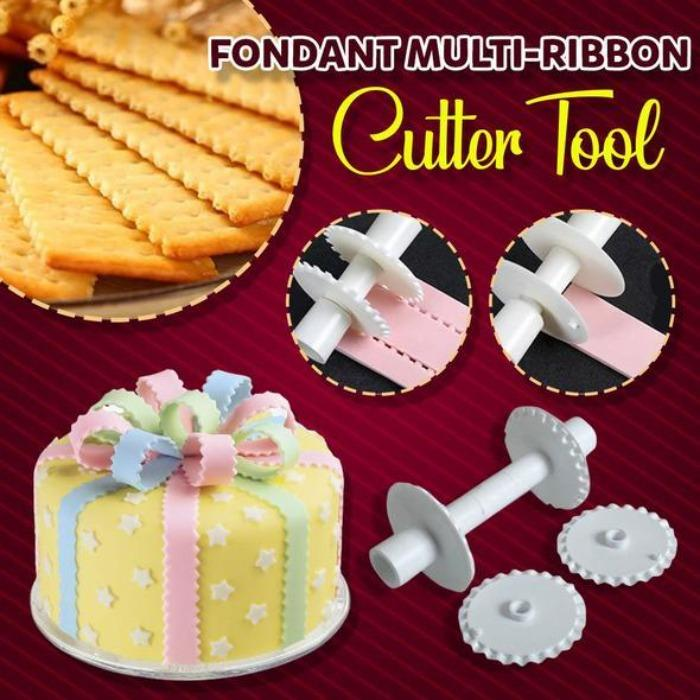 Fondant Multi-Ribbon Cutter Tool