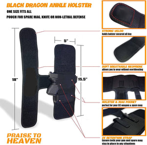 Black Dragon Ankle Holster