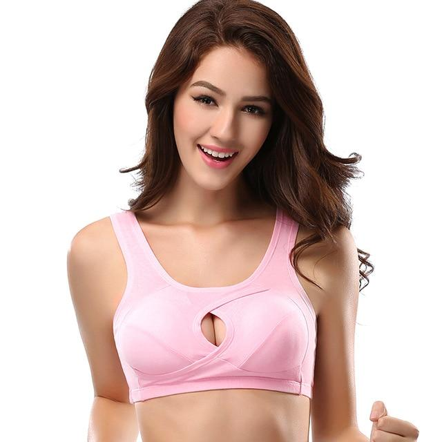 Criss-cross Breathable Anti-sagging Wirefree Bra