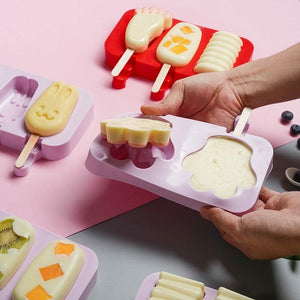 DIY Popsicle Molds Homemade With 50 Wooden Sticks